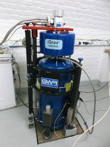 Le gravimètre supraconducteur iOSG de l'observatoire gravimétrique de Strasbourg