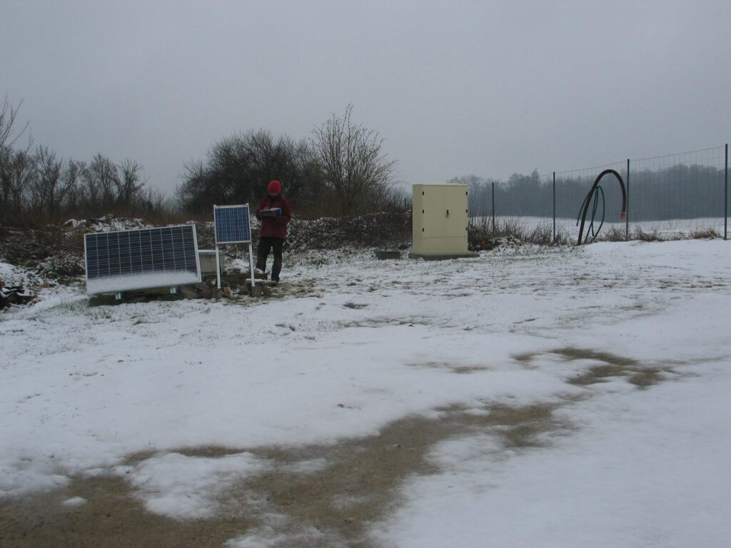 (RLBP) The seismological station in Manonville (Lorraine) MANO, installed in drilling