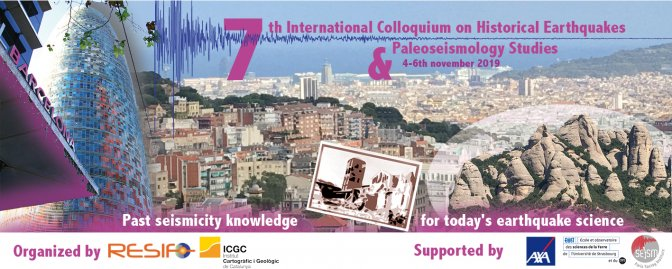 7th International Colloquium on Historical Earthquakes and Paleoseismology Studies