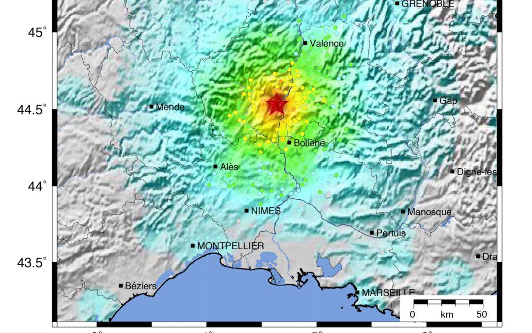 L'Action transverse sismicité dans le journal Seismological Research Letters