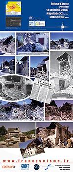 Le séisme d'Arette (Pyrénées) en 1967 (vignette)