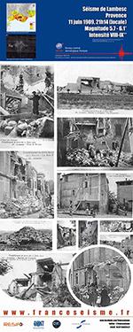 Le séisme de Lambesc en 1909  (vignette)