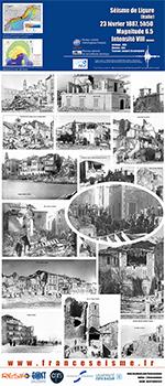 Le séisme de Ligure (Italie) en 1887