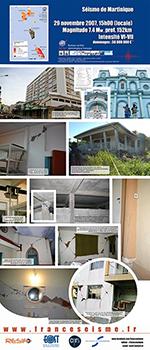 Le séisme de Martinique, 29 novembre 2007 (vignette)
