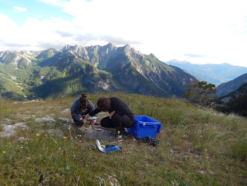 End of the GPS/GNSS measurement campaign in the Briançonnais