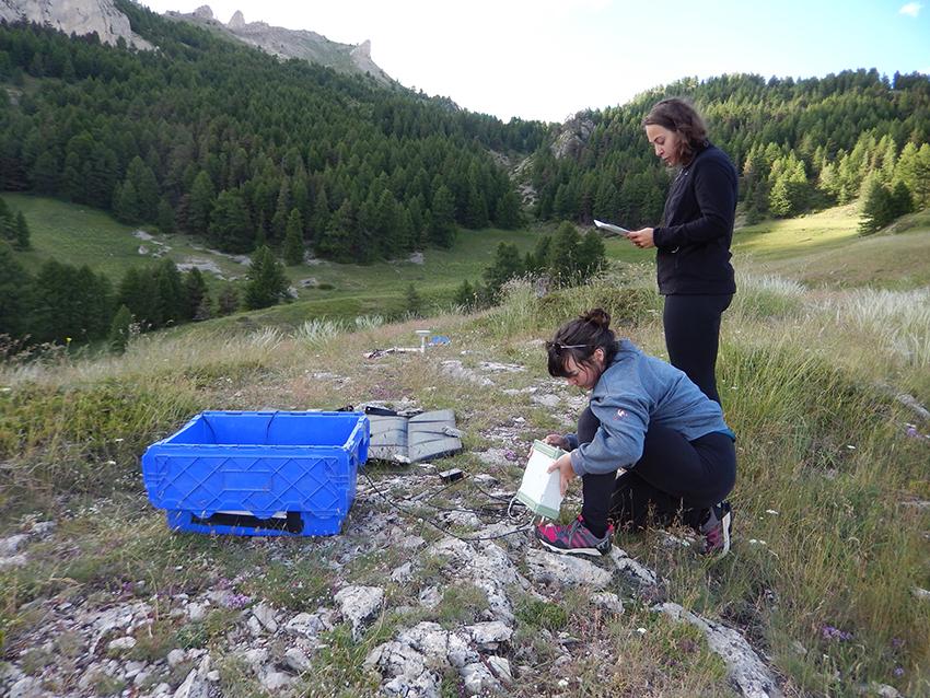 Campagne GPS/GNSS dans le Briançonnais du 29 juin au 8 juillet 2021 : vérification du bon fonctionnement du dispositif sur le site ARV