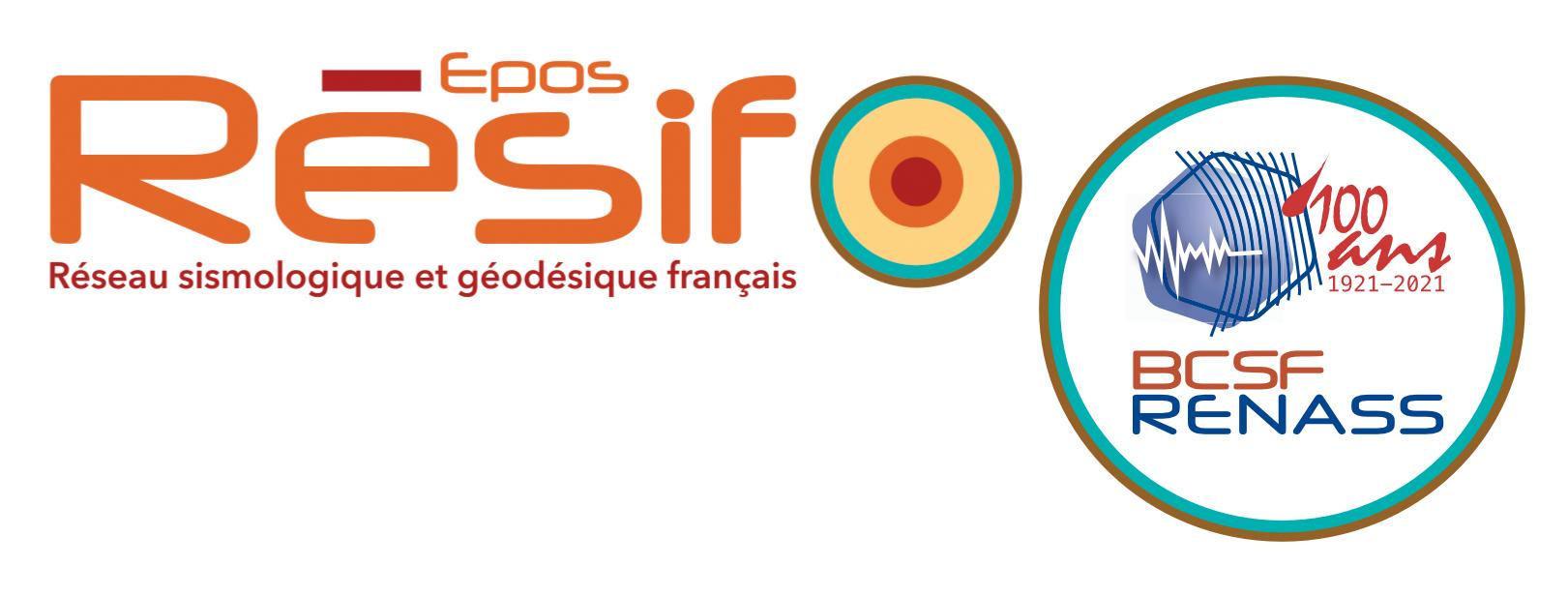Logo Résif + centenaire BCSF 2021