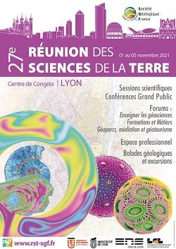 Table ronde Résif à la 27e Réunion des Sciences de la Terre